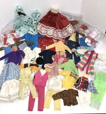 $ CDN21.83 • Buy Huge Lot Vintage Barbie Clone Clothes - Over 40 Pieces Plus Accessories!