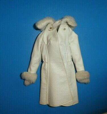 $ CDN10.59 • Buy Vintage Barbie Doll Clothes - MOD Era Barbie 1491 Red, White N' Warm Coat