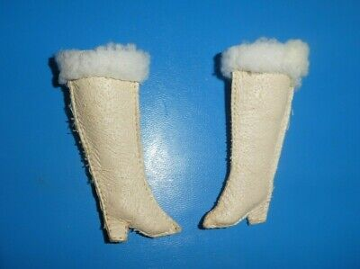 $ CDN5.29 • Buy Vintage Barbie Doll Clothes - MOD Era Barbie Red, White N' Warm Or Clone Boots