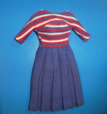 $ CDN12.57 • Buy Vintage Barbie Clothes - Vintage Barbie 1631 Aboard Ship Dress
