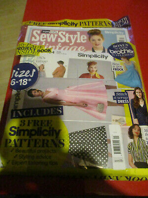 Simplicity Sewing Magazine,sewing Patterns And Book New • 2.99£
