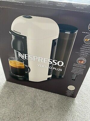 View Details Nespresso VertuoPlus Coffee Maker - White 12 X Coffee Capsules Included • 60.00£