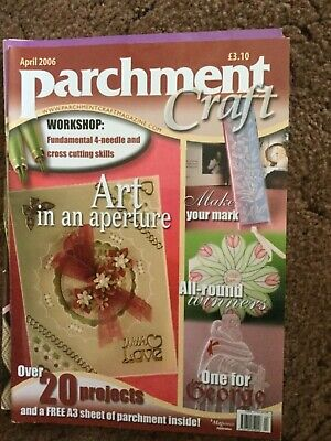Parchment Craft Magazine - April 2006 • 1£