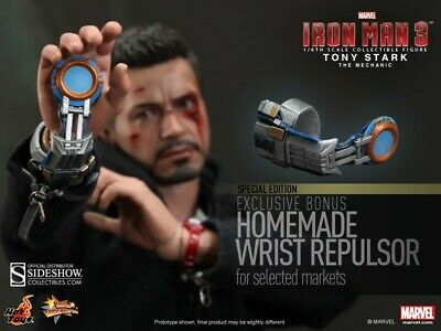 $ CDN218.73 • Buy Hot Toys Iron Man 3 Tony Stark The Mechanic 1/6 Scale Figure MMS209 Exclusive