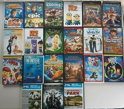$ CDN38.06 • Buy Lot Of 21 Kids Movies DVDs - Very Good/Good Condition