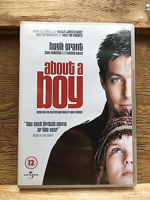 About A Boy Film On DVD/Starring Hugh Grant/Based On Book By Nick Hornby • 0.99£