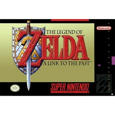 $6.95 • Buy LEGEND OF ZELDA - SUPER NINTENDO POSTER 24x36 - 3333 *CREASED*
