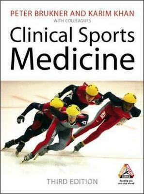 £21.25 • Buy Clinical Sports Medicine By Peter Brukner (Mixed Media Product) Amazing Value