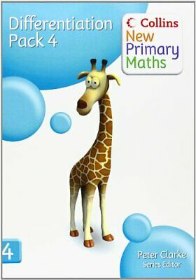 Collins New Primary Maths - Differentiation Pack 4 Copymasters Book The Cheap • 17.99£