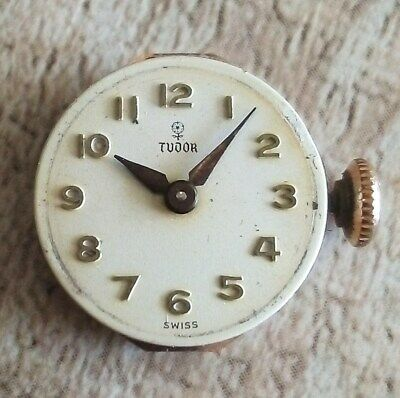AU49.99 • Buy Tudor Small Rose Rolex Vintage Swiss Watch Movement 1960's