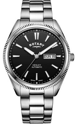 $ CDN396.23 • Buy Rotary Gents Henley Automatic Watch - GB05380/04 NEW