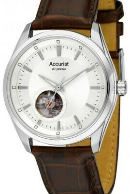 $ CDN151.01 • Buy Accurist Gents Pure Precision Automatic Watch MS907S-NEW