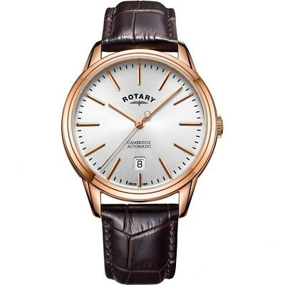 $ CDN244.36 • Buy Rotary Gents Cambridge Automatic Watch GS05252/02-NEW