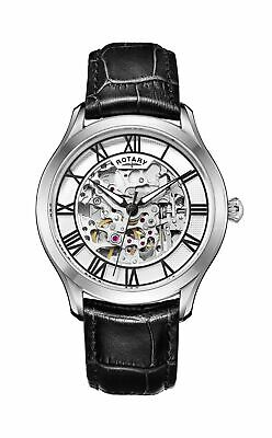 $ CDN325.02 • Buy Rotary Gents Automatic Watch - GS00641/06-NEW