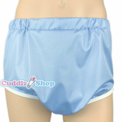 £14.99 • Buy Cuddlz Blue Crinkle Pull Up Adult Sized Incontinence Pants Briefs