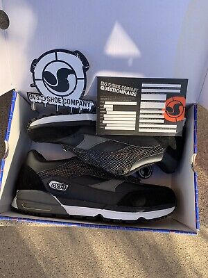 AU213.04 • Buy DVS Huf 4 Run Black Leather Size 10 Brand New With Extras Keith Hufnagel