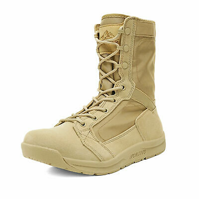 $44.34 • Buy NORTIV 8 Men's Military Tactical Combat Boots Army Hiking Lightweight Work Boots
