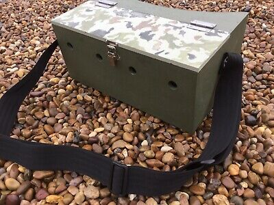 Double Bow Back Ferret Carry Box 1 Large Compartment Ferreting Rabbiting Hunting • 38£