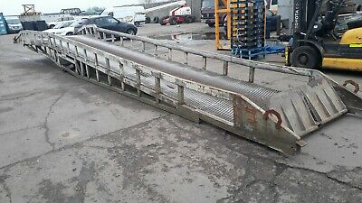Forklift Loading Ramp Container Loading 7 Ton Capacity Hydraulic INCLUDES V.A.T • 2,999£