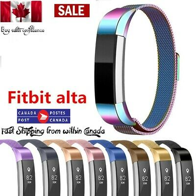 $ CDN11.99 • Buy NEW Stainless Steel Watch Band Bracelets Wrist Strap For Fitbit Alta HR Alta ACE