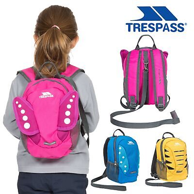 Trespass Kids Harness Backpack Baby Toddler Safety Backpack With Reins • 8.99£