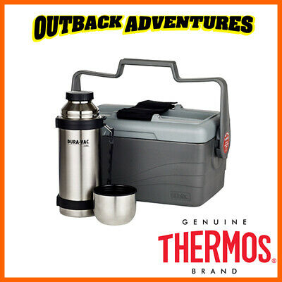 AU79.95 • Buy Thermos Lunch Lugger 6.6l Insulated Cooler With 1l Stainless Steel Vacuum Flask