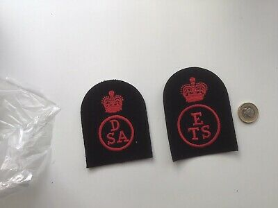 2 Vintage Royal Navy Naval Womans Service Wrns Wrens Uniform Badge Petty Officer • 1£