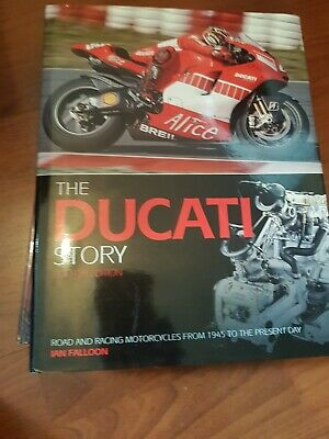 The Ducati Story By Ian Falloon Fourth Edition Book   HC • 22.99£