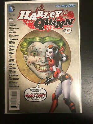 $ CDN18.13 • Buy DC Comics New 52 HARLEY QUINN #0 1st PRINT Conner Lee Timm Cooke Kieth Hughes