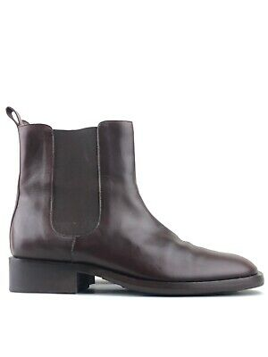 GUCCI Women's Brown Leather Dealers Chelsea Boots UK 6.5 | EUR 39.5 C | US 8.5 | • 199.99£