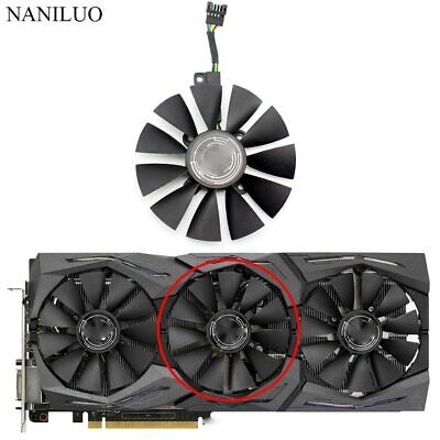 $ CDN19.14 • Buy T129215SM 5Pin Cooler Fan For ASUS ROG Strix GTX 1080 Ti 1070 1060 RX 480 580