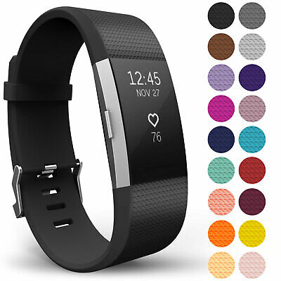 AU7.16 • Buy For Fitbit Charge 2 Wrist Straps Wristband Best Replacement Accessory Watch Band
