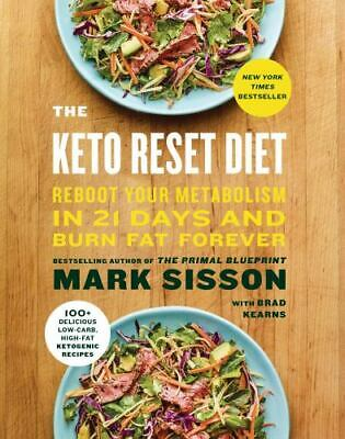$8.16 • Buy The Keto Reset Diet: Reboot Your Metabolism In 21 Days And B