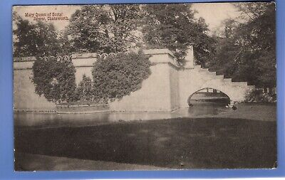 Old Vintage 1908 Postcard Mary Queen Of Scots' Bower Chatsworth Derbyshire • 0.99£