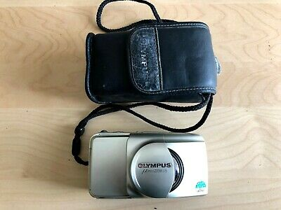 $ CDN42.22 • Buy VINTAGE OLYMPUS Mju ZOOM 115 COMPACT CAMERA JAPAN Original Case
