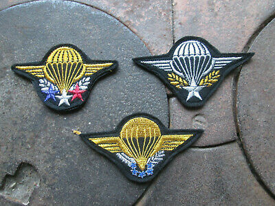 French Foreign Legion Etrangere-2º REP-set Patches Patent Paratrooper,HALO-HAHO, • 9.99£
