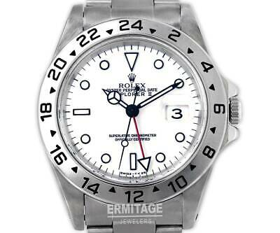 $ CDN10394.82 • Buy Rolex Explorer II Mens Watch 16570 One Year Warranty