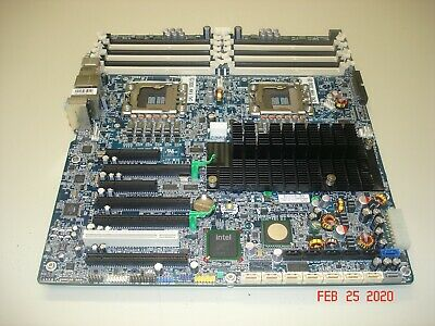$ CDN116.57 • Buy Hp 461437-001 Z800 Workstation Dual Lga1366 Cpu Socket Motherboard 460838-001
