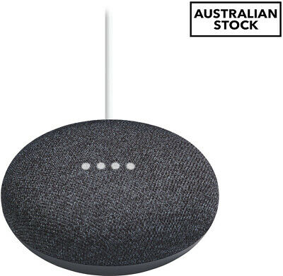 AU84.84 • Buy Google Home Mini Smart Speaker - Charcoal