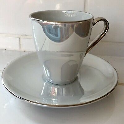 £9.99 • Buy John Lewis Pearl Lustre Expresso Coffee Cup And Saucer