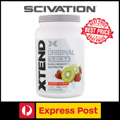AU40.50 • Buy Scivation Xtend Original BCAA Amino Acids Recovery 30 Or 90 Servings