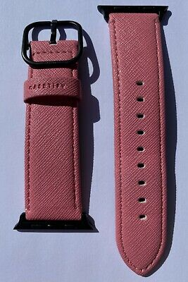 $ CDN36.51 • Buy Casetify Apple Watch Band Pink With Space Gray Series 0 1 2 3 42mm 4 5 6 44mm