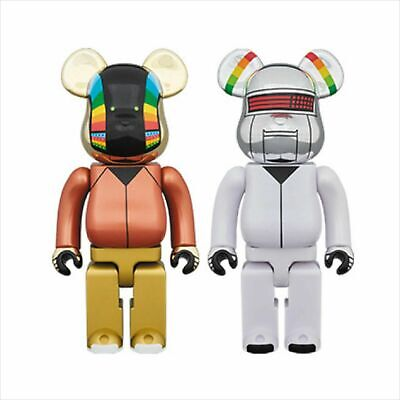 $1000 • Buy Medicom Bearbrick 2018 Daft Punk 400% Discovery Ver. Be@rbrick Set Japan NEW