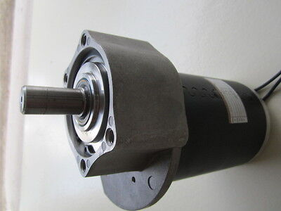 $ CDN213.19 • Buy 1/2 Hp, 24 Volt Electric Vehicle DC Permanent Magnet Motor W/ 5.2:1 Gearbox USA