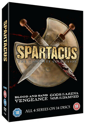 £13.99 • Buy Spartacus: The Complete Collection DVD (2015) Andy Whitfield Cert 18 14 Discs