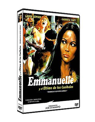 EMANUELLE AND THE LAST CANNIBALS (1977) **Dvd R2** Laura Gemser, • 17.99£