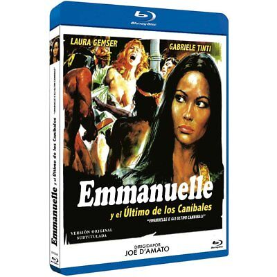 EMANUELLE AND THE LAST CANNIBALS (1977) **Blu Ray B** Laura Gemser, • 17.99£
