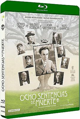 KIND HEARTS AND CORONETS (1949) **Blu Ray B** Dennis Price, Remastered HD • 22.61£