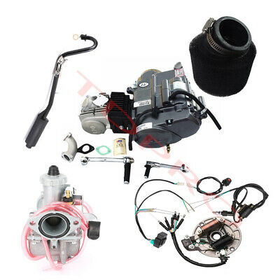 £403.55 • Buy Lifan 125cc Engine 4 Up Motor Manual For Honda CRF50 Z50 XR50 Pitbike CT70 CRF70