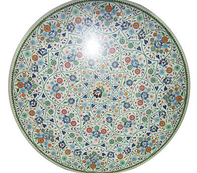 36  Italian Marble Dining Room Table Top Cyber Monday Mosaic Inlay Decor H2312 • 2,596.15£